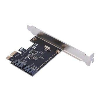 PCI-E Cards PCI Express to SATA 3.0 2-Port SATA III 6Gbps Expansion Adapter Boards - intl - 4