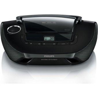 Philips AZ1837/73 CD Soundmachine Lifestyle Design USB (Black)