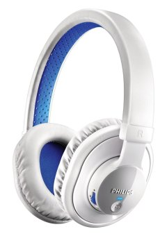 Philips SHB7000WT/28 Bluetooth Stereo Headset (White)