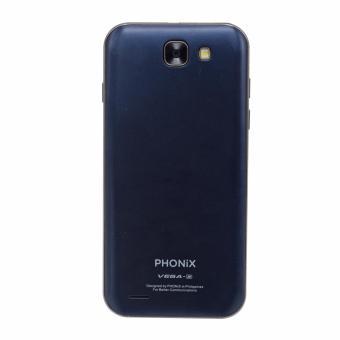 Phonix Mobile Vega 2 4GB Quadcore With Free Case (Blue) - 4