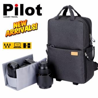 Pilot 131 Multifunction Sports Action Camera Bag Travel Backpack Laptop Computer Mac Book Professional DSLR
