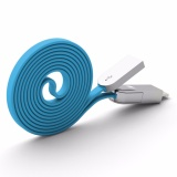 Pineng PN-307 2-in-1 Data & Charging Cable (Blue)