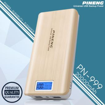 Pineng PN-999 20000mAh Power Bank (Gold)