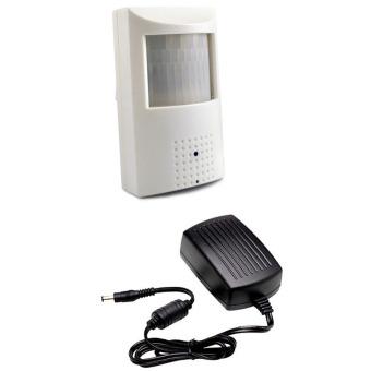 Pinhole Lens Mini CCTV Camera with 2A Power Adaptor Bundle