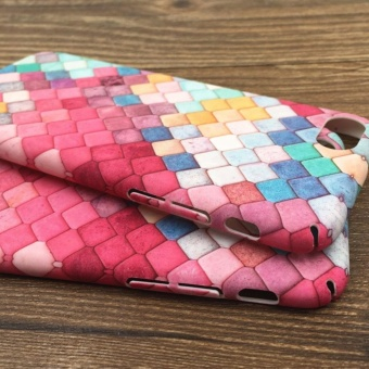 Pink Cute 3D Colorful Fish Scales Phone Cases For Apple iPhone7Plus Case - 4