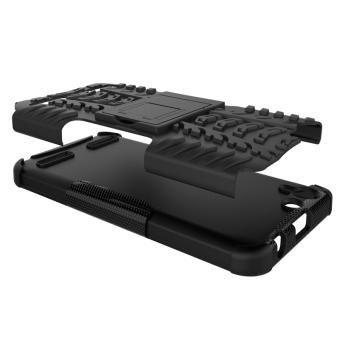 Plastic + TPU Case for Lenovo VIBE K5/K5 Plus (Black) - 2