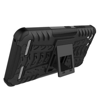 Plastic + TPU Case for Lenovo VIBE K5/K5 Plus (Black) - 5