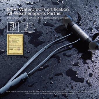 Plextone BX343 Wireless Headphone IPX5 Waterproof Dual Battery 8 Hours music time Bluetooth Sport Earphone for Running - intl - 5