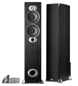 Polk Audio RTi A5 Floorstanding Hifi/Stereo Speakers (Black)