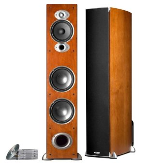 Polk Audio RTi A7 Floorstanding Hifi/Stereo Speakers (Cherry)