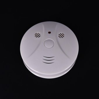 Pop Smoke Detector Cam Hidden Surveillance Security Camera/Recorder Dvr+Remotef - intl Price Philippines