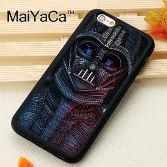 Popular Custom For Apple iPhone 6/6S Plus Case 5.5 Inch FashionDarth Vader Star Wars Printed - intl Price Philippines