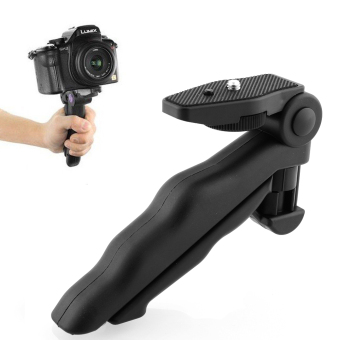 Portable 2 in 1 Handheld Grip Mini Tripod for Digital Camera Camcorder - 3