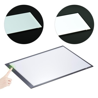 Portable A3 LED Light Box Drawing Tracing Tracer Copy Board Table Pad Panel Copyboard with Memory Function Stepless Brightness Control for Artist Animation Tattoo Sketching Architecture Calligraphy Stenciling - intl - 3