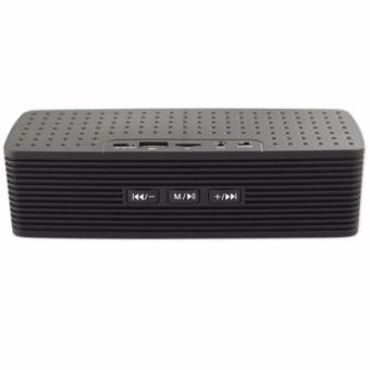 Portable Bluetooth Dual Speakers Ultra Bass (Black) - 2