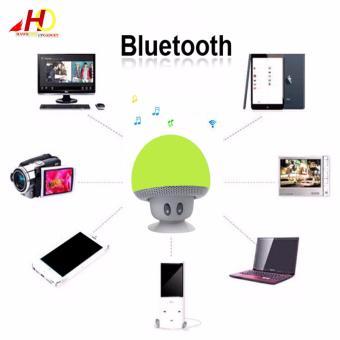 Portable Mini Mushroom Wireless Bluetooth Speaker (Green) - 2