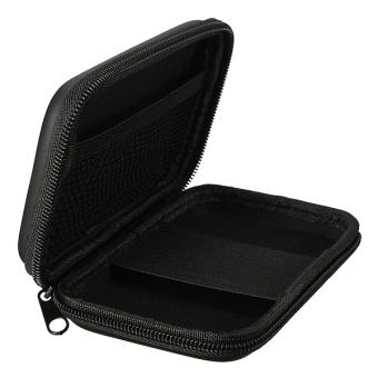 Portable Zipper External 2.5 HDD Bag Case (Black) - 5