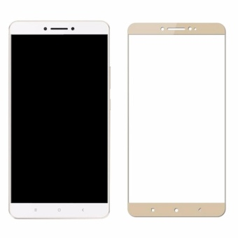 Premium Full Screen Tempered Glass Screen Protector for Xiaomi MiMax 2 (Gold) Price Philippines