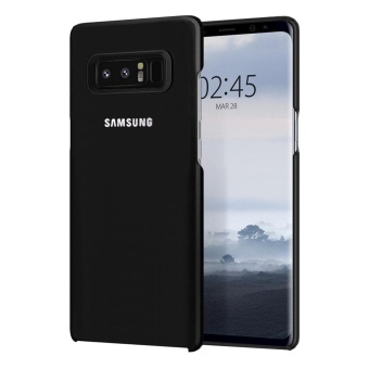 Premium Slim Hard Back Case For Samsung Galaxy Note 8 (Black)