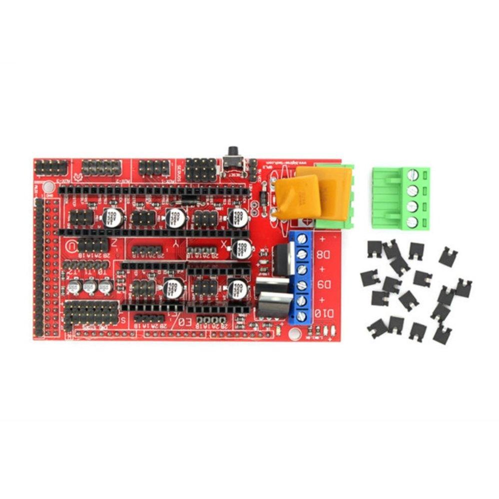 Philippines Pro 3d Printer Controller Ramps 14 Shield Board For Arduino Reprapprusa Mendel Intl