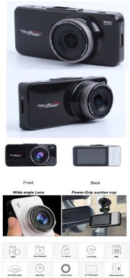 Product Details of Full HD Dash Cam DVR Recorder 170 Degree 6G LensSuper Night Vision Car Camera Black - intl - 2