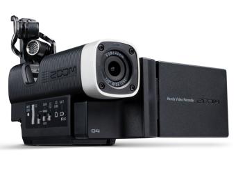 Zoom Q4 Handy Video Recorder (Black)