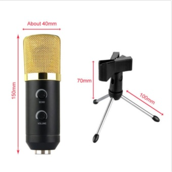 Professional USB Condenser Sound Podcast Studio Microphone For KTVPC Laptop - intl - 5