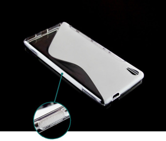 Protec S-Line TPU Case for Sony XA Ultra (Clear)