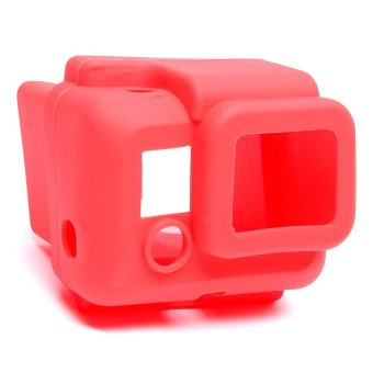 Protective Silicone Case for GoPro Hero 3 (Red)