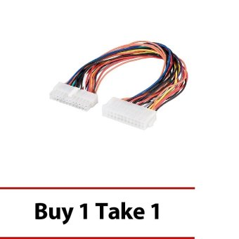 PSU Extension Cable 24pin ATX 6inches Buy 1 Take 1