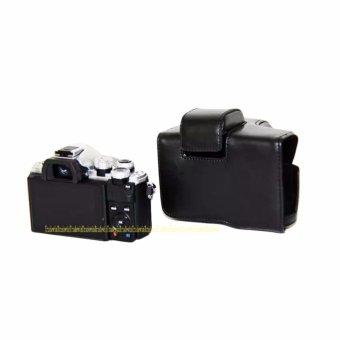 PU Leather Camera Case Bag for OLYMPUS EM10II E-M10 MarkII - intl - 5