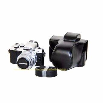 PU Leather Camera Case Bag for OLYMPUS EM10II E-M10 MarkII - intl - 2