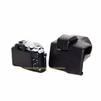 PU Leather Camera Case Bag for OLYMPUS EM10II E-M10 MarkII - intl - 4