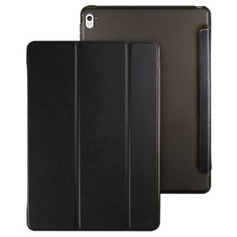 PU Leather Magnetic Ultra thin Smart Cover for Apple iPad PRO 9.7inch (Black)
