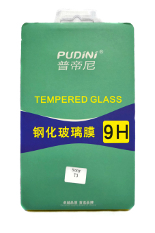 Pudini Tempered Glass for Sony Xperia T3 (Clear)