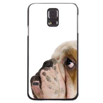 Pug Dog Printed Phone Case for Samsung Galaxy S5 (Black)