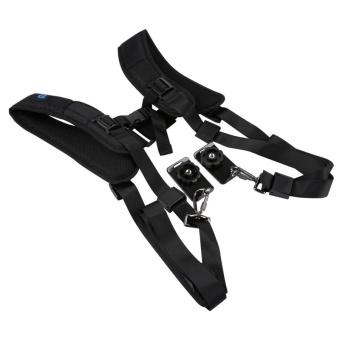 PULUZ Quick Release Double Shoulder Harness Soft Pad DecompressionFoam Shoulder Strap Belt For DSLR Digital Cameras - intl - 2