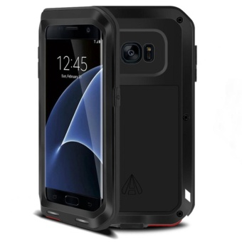 PURISS Gorilla Tempered Glass Waterproof Metal Armor Case Cover ForSamsung Galaxy S7 Edge - intl - 2