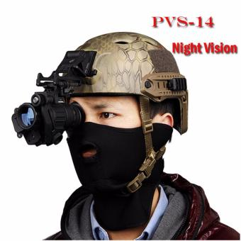 PVS-14 2 x 30 BAK4 Prism Infrared Night Vision Telescope - BLACK - intl
