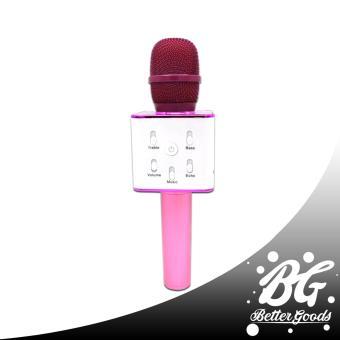 Q7 Wireless Bluetooth Microphone & HIFI Speaker (Gold/White) - 5