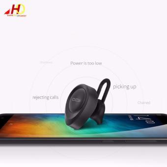 QCY J11 Mini Wireless Bluetooth4.1 Stereo Headset Earphone MonoIn-ear Portable Earbud Earphone (Black) - 3