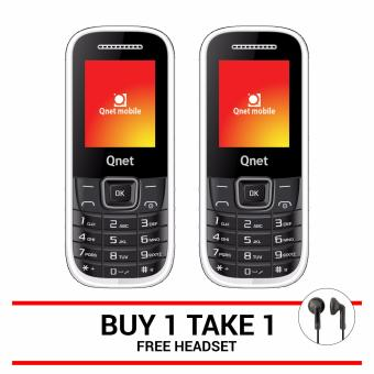QNET MOBILE B16 (White) Buy One Take One