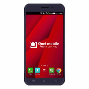 QNET Mobile Jomax 8GB (Deep Blue) with FREE Leather Case and Tempered Glass - 2