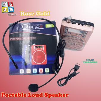QuGoo Portable Loud Speaker With Lapel Microphone QG-204 - 2