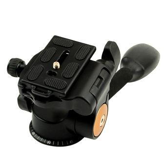 QZSD Q08 3-Way Fluid Head Rocker Arm Video Tripod Ball Head+ QuickRelease Plate (Intl) Price Philippines