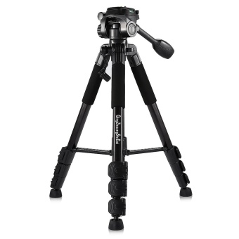 QZSD Q111 4.8ft Aluminum Alloy 4 Section Camera Tripod - intl Price Philippines