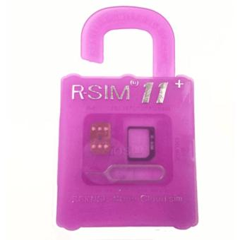 R-SIM RA-11+ The Best Unlock and Activation SIM for iPhone4S/5/5C/5S/6/6Plus/6S/6sPlus7/7Plus (Gold) Price Philippines