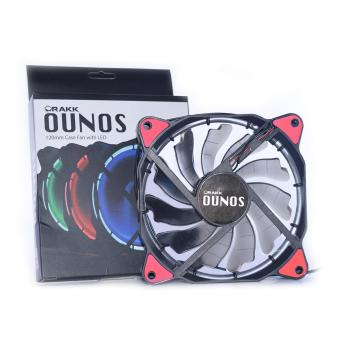 Rakk Ounos 120mm Eclipse Red Led Fan