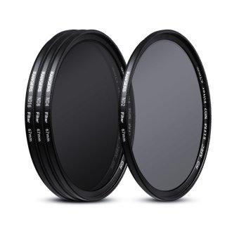 Rangers 67mm ND2 4 8 16 Filter Set Neutral Density + Cleaning Pen for Nikon RA20 - 4