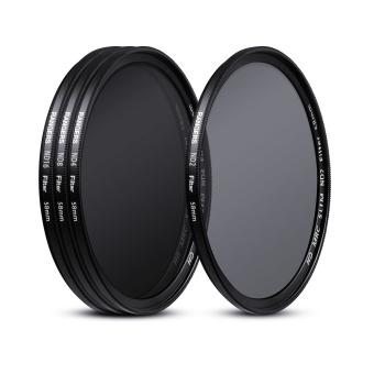 Rangers ND2 ND4 ND8 ND16 Filter Set 58mm Neutral Density Slim HD MRC RA18 4pcs - 2